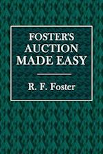 Foster's Auction Made Easy