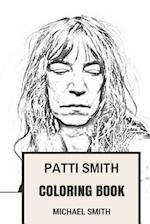 Patti Smith Coloring Book