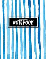Unlined Notebook