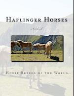 Haflinger Horses Notebook