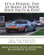 It's a Puzzle- The Le Mans 24 Hour Race-Facts & Fun!