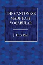 The Cantonese Made Easy Vocabulary