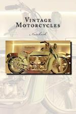 Vintage Motorcycles Notebook