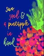 ...Pineapple in Hand;pineapple Quote Notebook/Journal;gifts for Pineapple Lovers