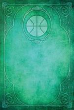 Monogram Basketball Notebook