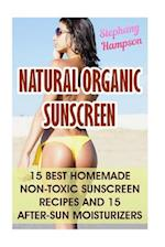 Natural Organic Sunscreen