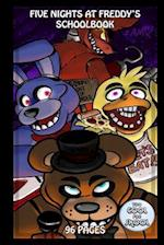 Five Nights at Freddy's Schoolbook - 96 Pages