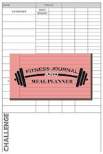 Fitness Journal and Meal Planner