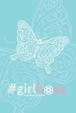 #Girlboss Business Planner (Aqua)