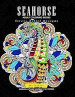 Sea Horse Adult Coloring Books