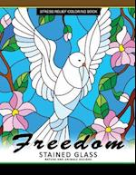 Freedom Stain Glass Coloring Book