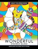 Wonderful Stain Glass Coloring Book