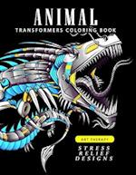 Animal Transformers Coloring Book