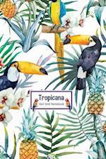 Tropicana Dot Grid Notebook
