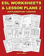 ESL Worksheets and Lesson Plans 2