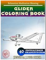 Glider Coloring Book for Adults Relaxation Meditation Blessing