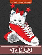 The Vivid Cat Coloring Book for Adults