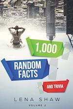 1000 Random Facts and Trivia, Volume 2