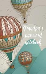 Grandpa's Password Notebook