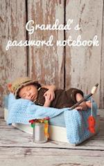 Grandad's Password Notebook