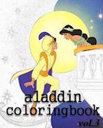 Aladin Coloring Books
