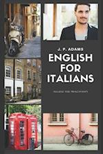 English for Italians