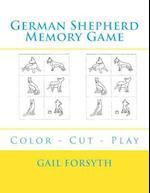 German Shepherd Memory Game