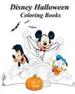Disney Halloween Coloring Books