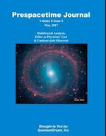 Prespacetime Journal Volume 8 Issue 5