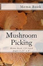 Mushroom Picking Memo Book