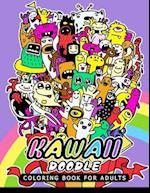 Kawaii Doodle Coloring Book for Adults