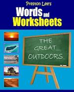 Preston Lee's Words and Worksheets - The Great Outdoors