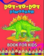 Dot to Dot Dinosaur Book for Kids
