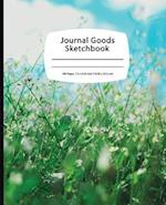 Journal Goods Sketchbook - Blue Sky Grass