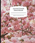 Journal Goods Sketchbook - Cherry Blossom