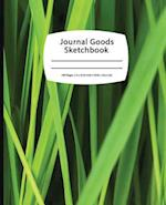 Journal Goods Sketchbook - Green Grass