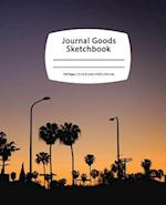 Journal Goods Sketchbook - Los Angeles Night