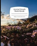 Journal Goods Sketchbook - Peaceful Field