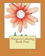 Nature's Coloring Book Fun!