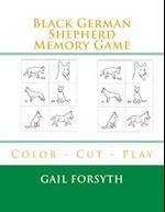 Black German Shepherd Memory Game