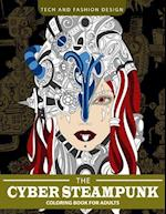 Cyber Steampunk Coloring Book for Adults