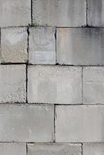 Journal Stacked Cement Cinder Block Brick Wall