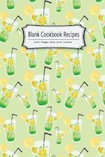 Blank Cookbook Recipes 120 Pages Size 6x9 Inches