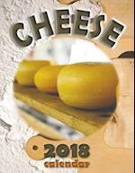 Cheese 2018 Calendar (UK Edition)