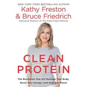 Lydbog, CD Clean Protein af Kathy Freston