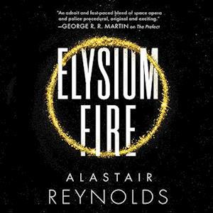 Lydbog, CD Elysium Fire af Alastair Reynolds