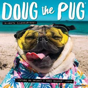Få Doug the Pug 2021 Wall Calendar (Dog Breed Calendar) af ...