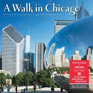 A Walk in Chicago 2022 Wall Calendar