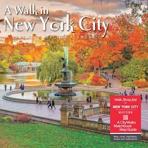 A Walk in New York City 2022 Wall Calendar