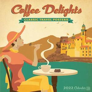 Coffee Delights Art 2022 Wall Calendar
